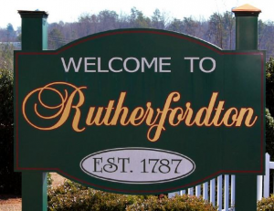 Rutherfordton securing houses and property